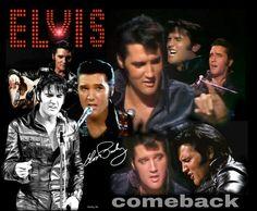 "Elvis comeback ""68 """