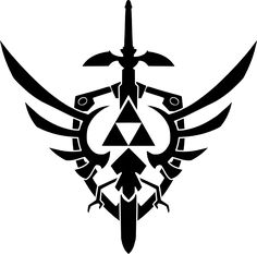 Maybe As A Tattoo?   Triforce design vector 2 by ~reptiletc on deviantART