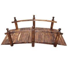 Aestivo Wooden Garden Bridge
