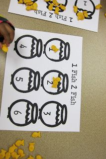 Mrs. Karen's Preschool Ideas: Dr. Seuss edci505 I selected this activity because it is a great way to teach counting and number recognition