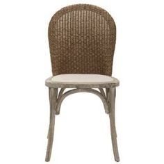 Check out the Safavieh MCR4599A-SET2 Set of 2 Kioni Side Chair in Taupe priced at $310.40 at Homeclick.com.