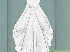 3 Ways to Bustle a Gown