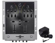 NEW-Numark-M3-2-Channel-Tabletop-DJ-Scratch-Mixer-w-EQ-Freq-Kill-Switch