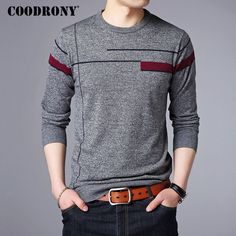 >> Click to Buy << COODRONY 2017 Autumn Winter Warm Cashmere Sweater Men Wool Pullover Men Brand Clothing Casual O-Neck Mens Sweaters Knitwear 7142 #Affiliate