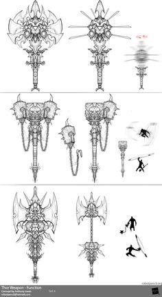 by Anthony Jones ✤ || CHARACTER DESIGN REFERENCES | キャラクターデザイン | çizgi film • Find more at https://www.facebook.com/CharacterDesignReferences & http://www.pinterest.com/characterdesigh if you're looking for: bandes dessinées, dessin animé #animation #banda #desenhada #toons #manga #BD #historieta #sketch #how #to #draw #strip #fumetto #settei #fumetti #manhwa #cartoni #animati #comics #cartoon || ✤