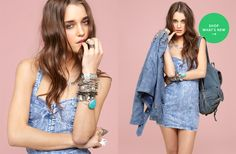 I have a serious obsession with denim at the moment.