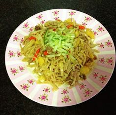 Cook With Oyuka: Цуйван - Tsuivan (Mongolian Noodle With Beef and Vegetables