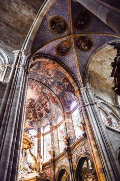 Interior de la Catedral de Santa María de Lugo (Lugo - Spain)