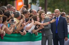 King Felipe and Queen Létizia attended the international agricultural exhibition in Zafra.