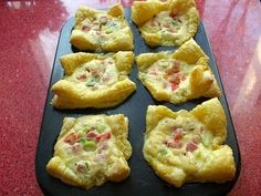 Edith's Kitchen: BRIOSE DIN FOIETAJ CU BACON