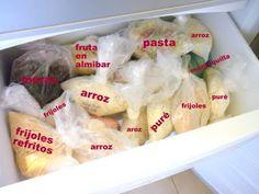 Ideas de comida congelada... | Mis Recetas