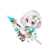 Cute Anime Chibi, Cute Anime Pics, Kawaii Anime Girl, Kawaii Art, Chibi Girl, Anime Fantasy, Kokoro, Cute Tshirts, Character Illustration
