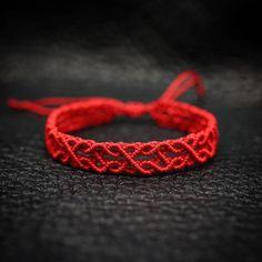 #red #macrame #매듭을그리다