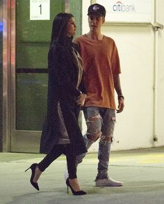 November 20: Selena out and about with Justin Bieber in Beverly Hills, California