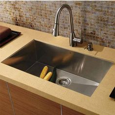 Kitchen Sink   Franke Undermount 18 Gauge Stainless Steel At 18 X 32 Inches    UDTS32/10 | Fixtures And Finishes | Pinterest | Bowl Sink, Sinks And  Kitchens