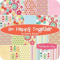 So Happy Together Rolie Polie Deena Rutter for Riley Blake Designs - Fat Quarter Shop