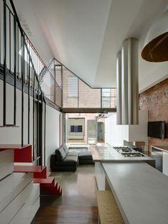 also love the stair detail (left) - Vader House/Andrew Maynard