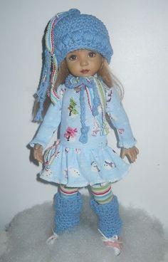 "Snowy Day Fun Fits 13"" Effner Little Darling | eBay"