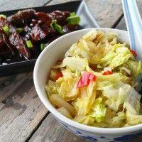 Babi ketjap met Chinese kool : Recepten van Domy