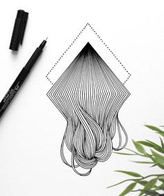 faber-castell, artist pen, pitt, lines, art Artist Pens, Abstract Line Art, Art Abstrait, Pen Art, Zentangle Patterns, Pattern Art, Doodle Art, Cool Drawings, Art Sketches