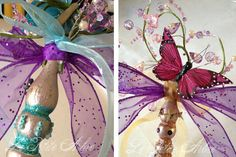 I was given some 2008 Summerset LIFE Magazines from one of my crafty friends. Inside were pictures of these cool Spring wands. These w...