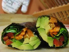 Veggie Nori Rolls (Eat Clean Diet)