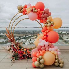 What a marvelous color combination for the perfect backdrop  photo booth 🔥 Comment below your thoughts 💭 #balloondecorby…