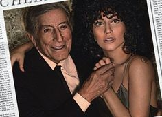 """Tony Bennett & Lady Gaga """"Cheek To Cheek"""". Saw this stuff on PBS---cannot believe how she can sing. Unbelievably gifted. So NOT her top 40 sound."""
