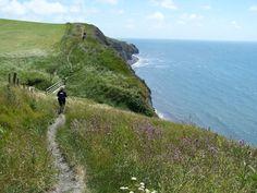Wandelen,kust,Engeland