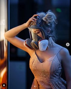 Gas Mask Girl, Gas Masks, Respirator Mask, Full Face, Bodycon Dress, Female, Safety, How To Wear, Boots