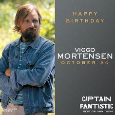 Happy birthday #ViggoMortensen! Don't miss his fantastic performance in #CaptainFantastic – own it today on digital HD! http://bleecker.me/capfanhp