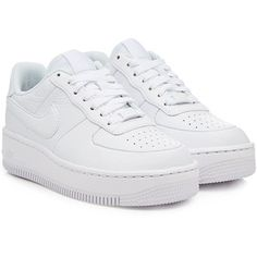 Nike Air Force Upstep Leather Sneakers