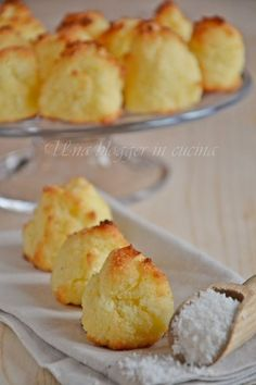 GF Coconut Cookies - Biscottini al cocco facilissimi e velocissimi