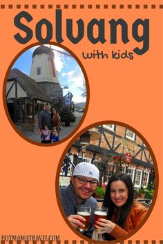 A little bit of Denmark in California. Click the pic to see what there is to do in Solvang with kids.