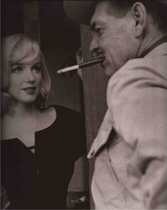 Marilyn Monroe - Clarke Gable