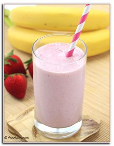 Banana Smoothie Recipe Without Milk.Banana Smoothie Without Yogurt Ice Cream Kid Friendly . Strawberry Banana Smoothie Recipe Build Your Bite. Banana Shake Recipe, Milkshake Recipes, Smoothie Recipes, Ice Cream Milkshake Recipe, Milk Shakes, Smoothie Recipe Without Milk, Strawberry Banana Milkshake, Strawberry Syrup, Recipes