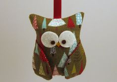 owl tree ornament