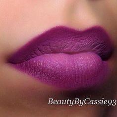 Super nails purple tips lip colors ideas Purple Tips, Purple Ombre, Eye Makeup, Beauty Makeup, Smoky Eye, Lipstick Colors, Lip Colors, Purple Lipstick, Box Braids