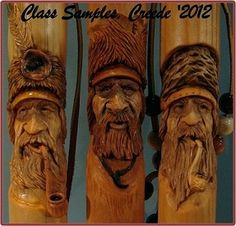 bark carving faces - Google Search
