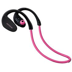Mpow Cheetah Bluetooth 4.1 Wireless Headphones Stereo Sport Running Gym Exercise Headsets Earphones Hands-free Calling Car Earbuds with CD Quality Talking/playing HD Sound via apt-X for iPhone 6 6plus 5S 4S Galaxy S6 S5 and iOS android Smartphones (Pink)