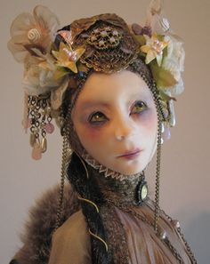 Virginie Ropars | Virginie Ropars — Doll couture | Needle and Clay