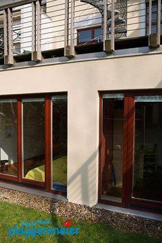 Handgefertigte Profile: Wärmedämmung einer Altbaurückfront in Schwachhausen - Arno Plaggenmeier GmbH - Maler Bremen