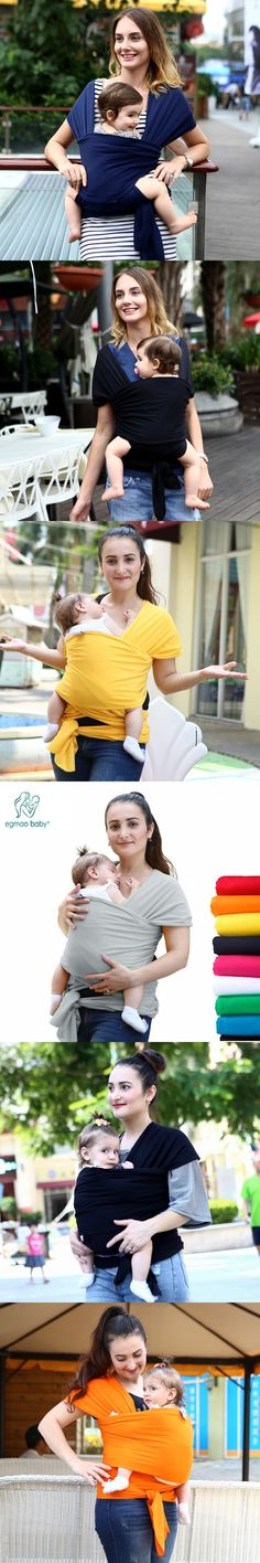 2016 Comfortable Fashion Infant Sling Soft Natural Wrap Carrier Baby Backpack 0-3 Yrs Breathable Cotton Hipseat Nursing Cover
