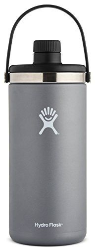 Hydro Flask 128 oz 1 gal Double Wall Vacuum Insulated Stainless Steel Leak Proof Oasis Water Cooler / Thermos / Jug, Graphite. For product & price info go to:  https://all4hiking.com/products/hydro-flask-128-oz-1-gal-double-wall-vacuum-insulated-stainless-steel-leak-proof-oasis-water-cooler-thermos-jug-graphite/