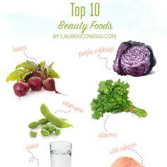 Tuesday Ten: Top Beauty Foods