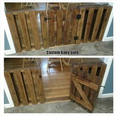 Custom baby gate mad