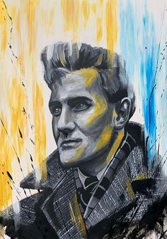 Leeds United Football, Drawings, Painting, Art, Art Background, Painting Art, Kunst, Sketches, Paintings