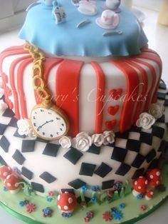 alice in wonderland cookie decorating | Alice in Wonderland