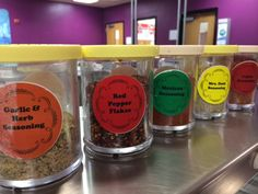 Flavor Station from Manor ISD, Texas. Thanks Jennifer Parks! (http://www.manorisd.net/apps/pages/index.jsp?uREC_ID=172374&type=d)