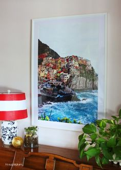 How do you decorate a large wall without painting? This roundup of DIY wall decor ideas for large walls has 60 ideas for large wall decor you can make yourself, on a budget, including using engineer prints for DIY wall decor. Diy Wall Art, Large Wall Art, Diy Wall Decor, Large Walls, Home Decor, Framed Art, Wall Decorations, Diy Wand, Blank Wall Solutions